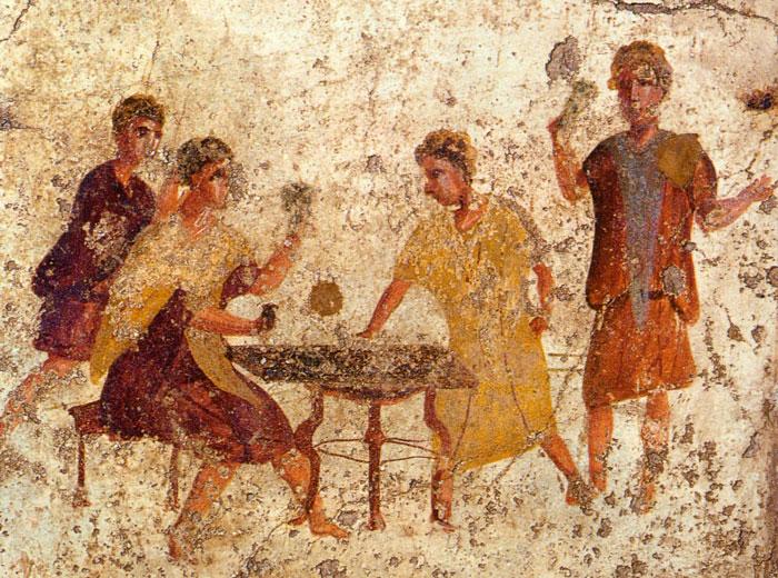 gioco dei dadi a roma