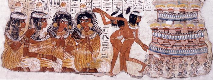 colori antico egitto tomba di nebamun