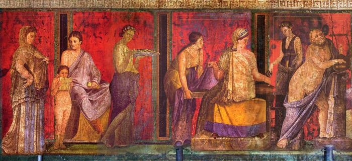 colori antica roma
