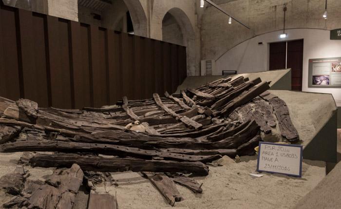 relitto Nave A museo navi antiche Pisa