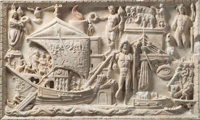 antiche navi romane mercantili