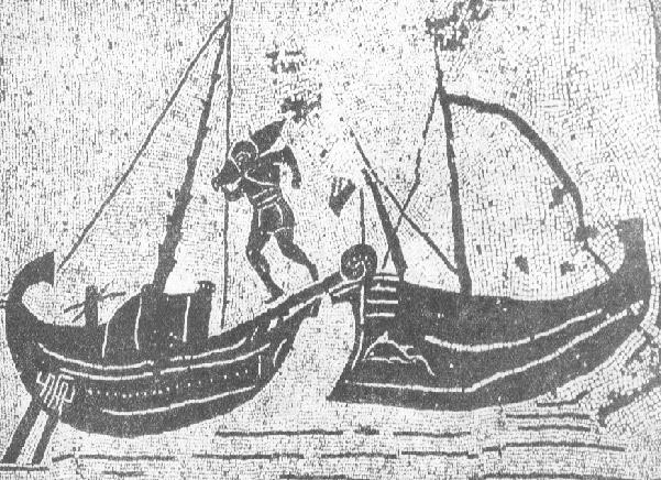 commercio antiche navi romane