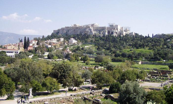 parole civiltà greca agorà atene