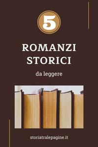 migliori romanzi storici
