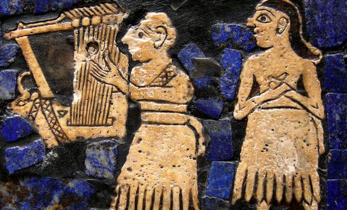 strumenti-musicali-antichi mesopota